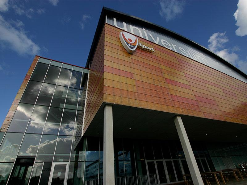 Locatie Amsterdam: Sportcentrum Universum Amsterdam